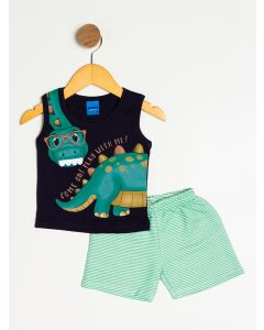 Conjunto Bebê Menino Dinossauro
