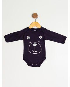 Body Bebê Masculino Ursinho