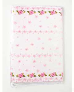 Trocador para Bebê 2 cm Floral - Rosa