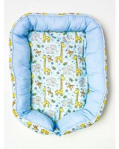 Ninho de BeBê Sáfari Miguel Baby - Azul