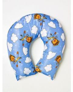 Almofada Amamentação Urso Aviador - Azul