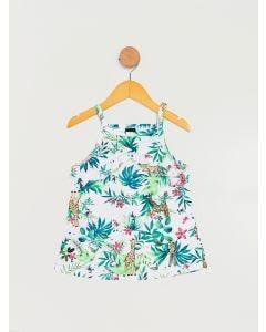 Blusa Infantil Floral - Branco
