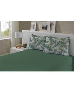 Jogo de Cama King 3 Peças Slim Green Edromania - Verde