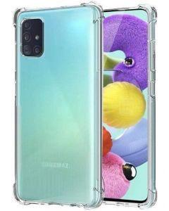 Capa para Smartphone Samsung A71 - Transparente