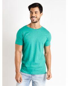 Camiseta Masculina Básica Manga Curta - Verde