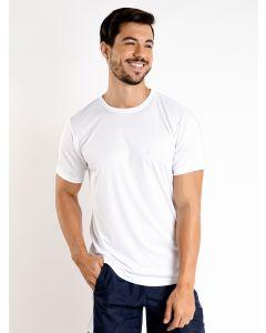Camiseta Masculina Esporte Ironwear Recorte - Branco