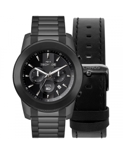 Relógio Connect 3+ Smartwatch Technos - Preto