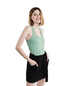 Regata Feminina Cotton Nadador Basic Soul - Verde