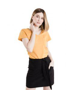 Blusa Feminina Flamê com Bolso Basic Soul - Amarelo