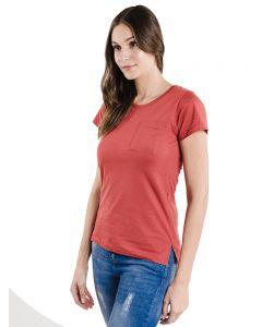 Blusa Feminina Flamê com Bolso Basic Soul - Vermelho