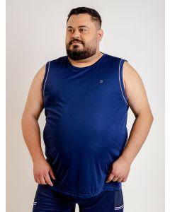Regata Masculina Esporte Plus Size Viés