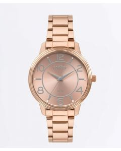 Relógio Feminino Strass Condor - Rose