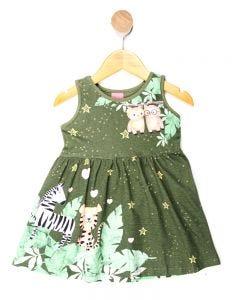 Vestido Infantil Menina Floresta
