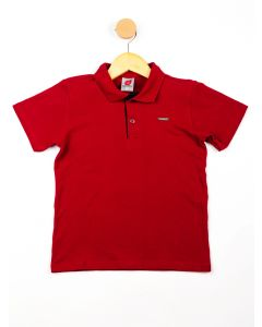 Polo Infantil Menino - Vermelho