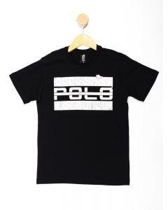 Camiseta Infantil Menino Foil Polo