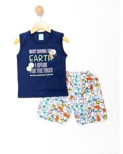 Conjunto Infantil Menino Terra