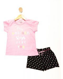 Pijama Juvenil Glitter Estampado