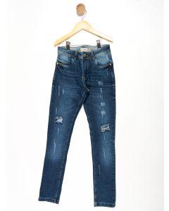 Calça Jeans Juvenil Menina - Azul