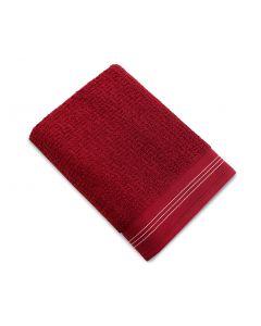 Toalha de Rosto Zeus Atlântica - Vermelho