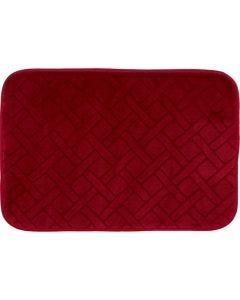 Tapete de Banheiro Verona 40cmx60cm Buchara - Vermelho